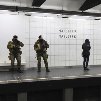 BELGIUM-ATTACKS-METRO-OPENING
