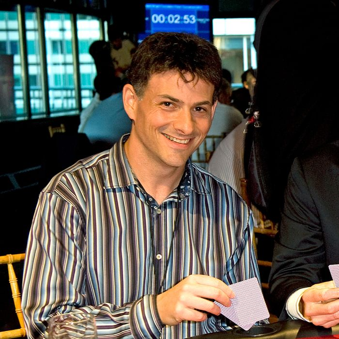 New York Mets David Wright hosts his David Wright Foundation 5th annual Las Vegas Night. David Einhorn President of Greenlight Capital and new Mets owner plays poker during the function.