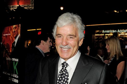 "Actor Dennis Farina arrives at the premiere of HBO's ""Luck"" at the Chinese Theater on January 25, 2012 in Los Angeles, California."