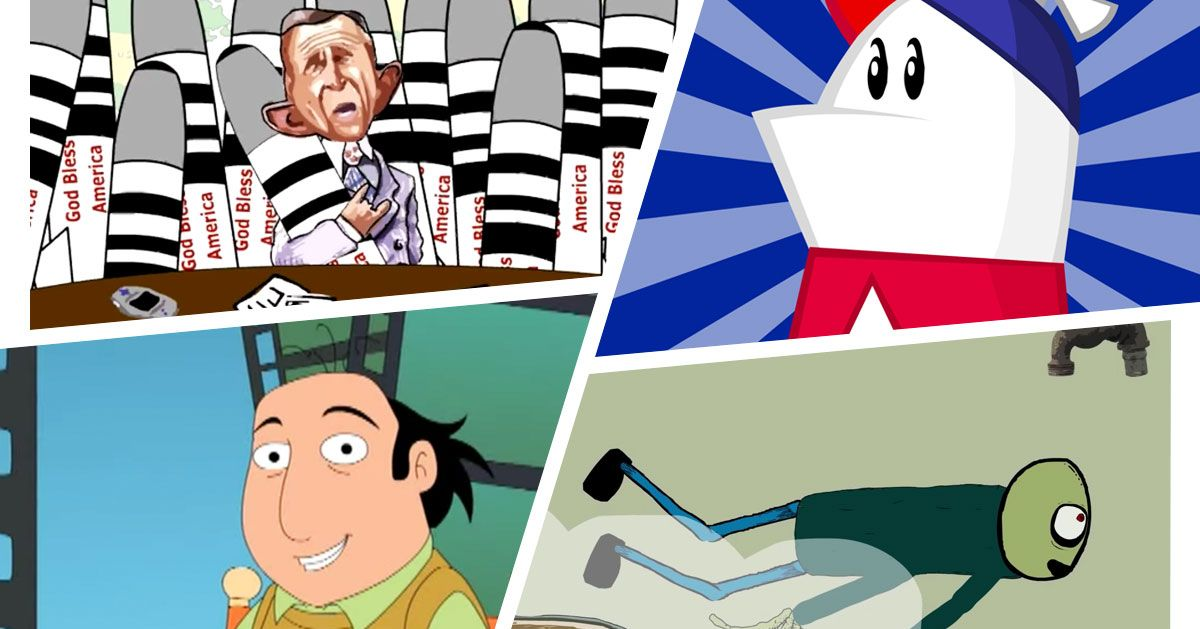The Best Cartoons Of The Early Internet