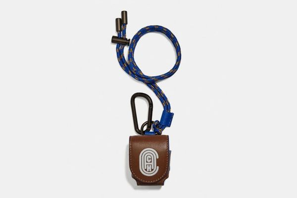 Coach Wireless Earbud Case With Reflective Coach Patch