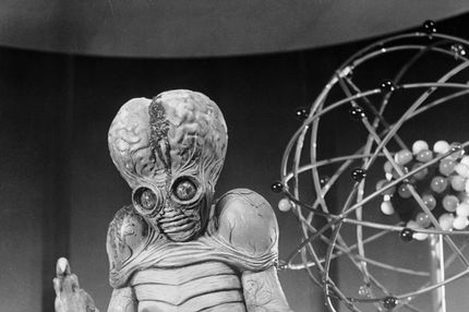 1954:  An alien mutant on the planet Metaluna, one of the stars of the sci-fi movie 'This Island Earth', directed by Joseph M Newman.