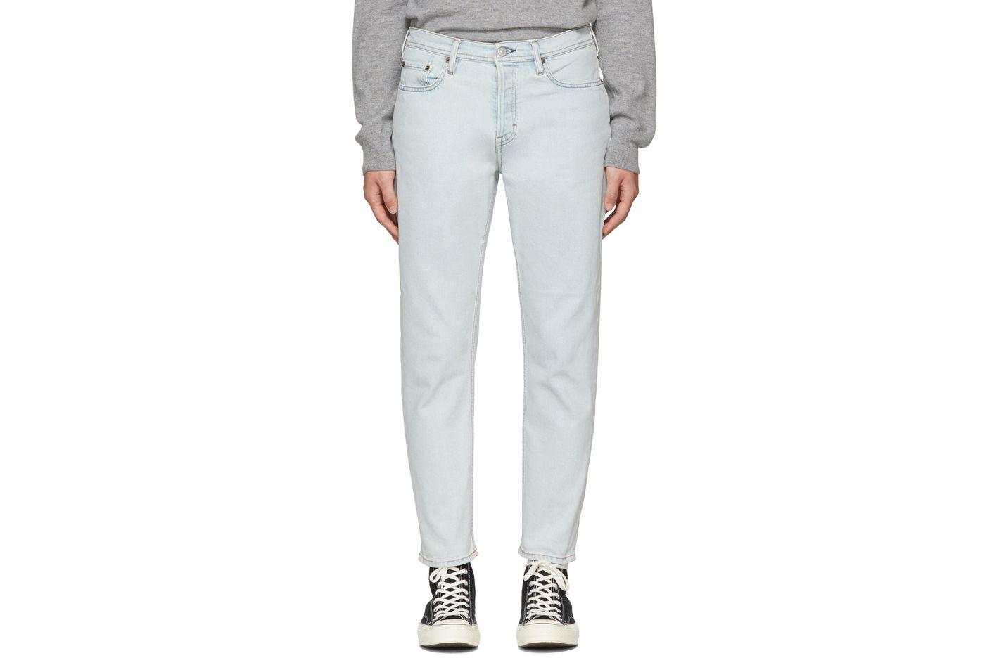 Acne Studios Light-Blue River Jeans