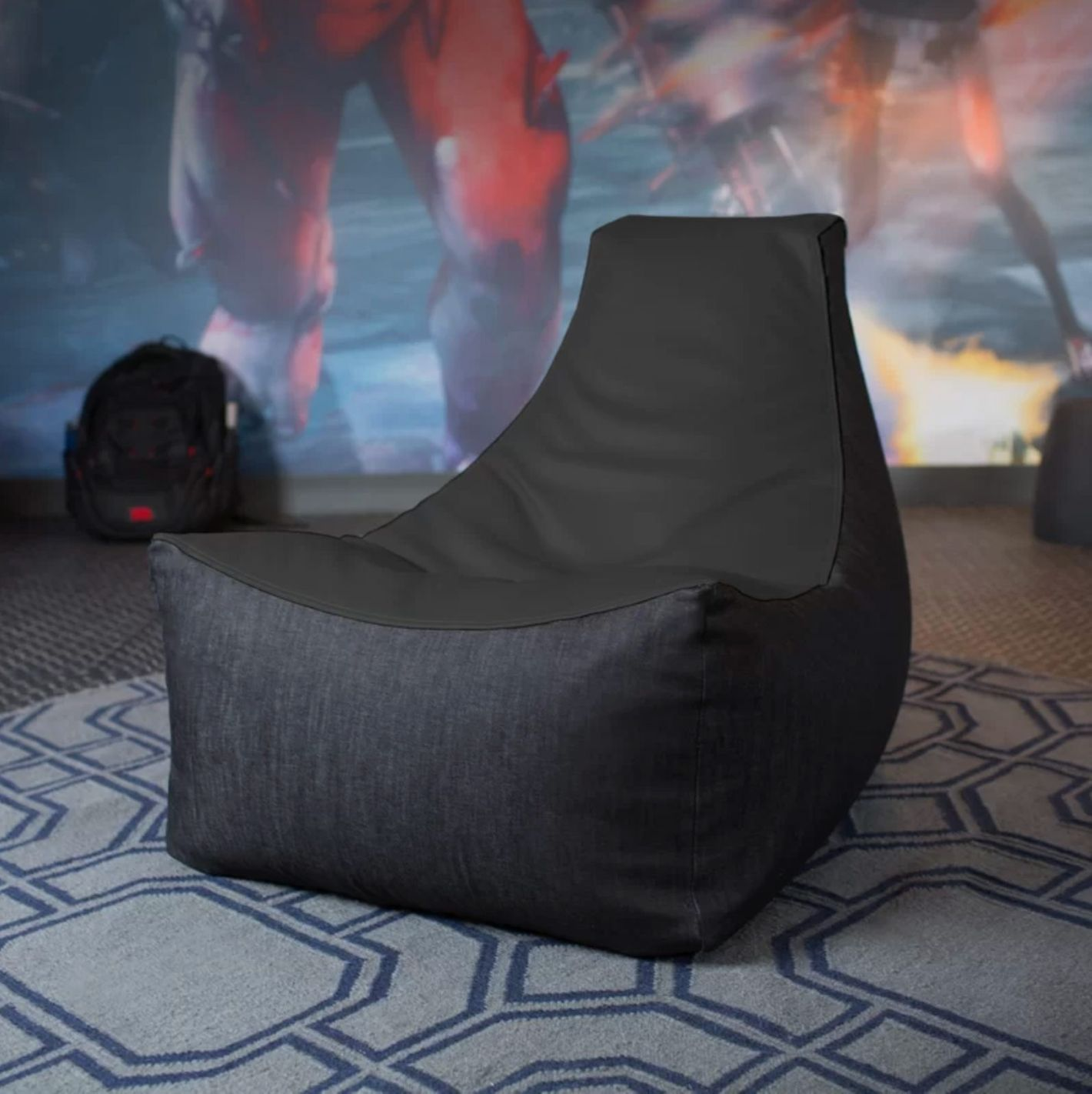 Jaxx Pixel Bean Bag Chair