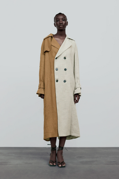 Zara Patchwork Trench CFDA/Vogue