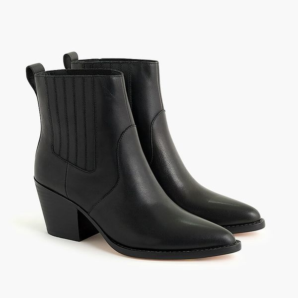 J.Crew Leather Western Boots