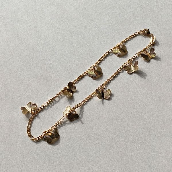 Lelia+Mae Butterfly Anklet