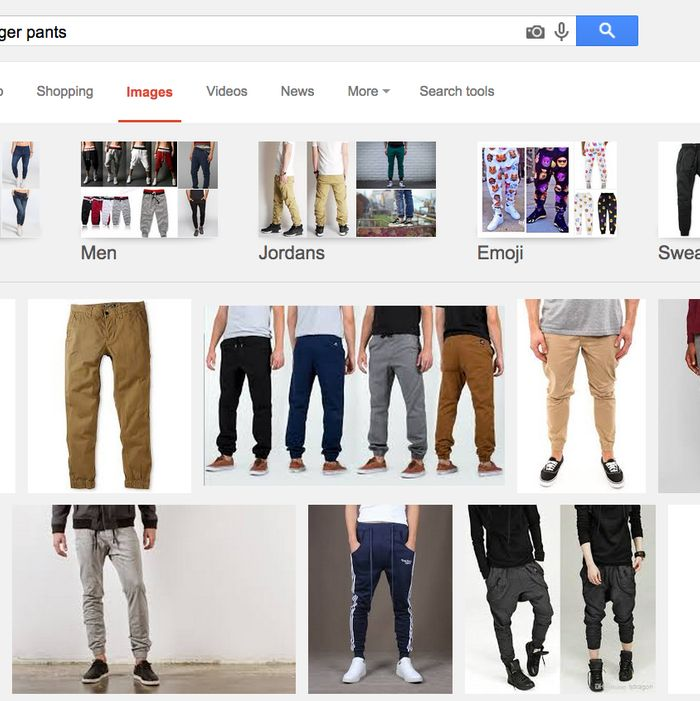7c49145e0e332d Google Says Jogger Pants Are In for Spring