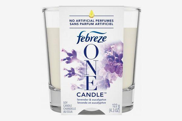 Febreeze One Lavender & Eucalyptus Candle