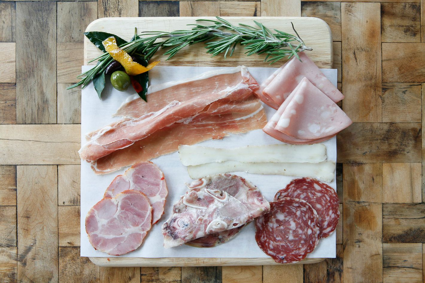 Last through the winter with cured meat from Rosemary's.