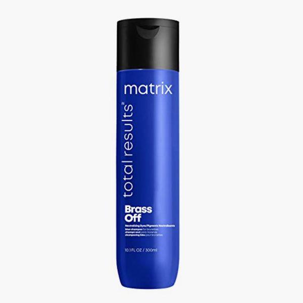 MATRIX Total Results Brass Off Color Depositing Blue Shampoo
