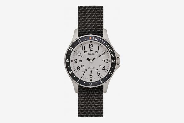 TimexNavi Ocean Reversible NATO Strap Watch, 38mm