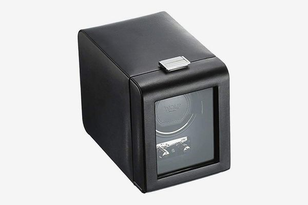WOLF Heritage Single Watch Winder with Cover