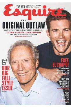 Clint and Scott Eastwood.