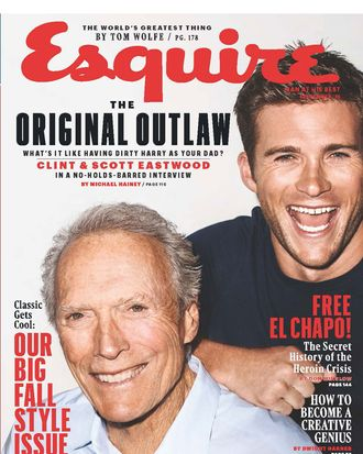Clint and Scott Eastwood.