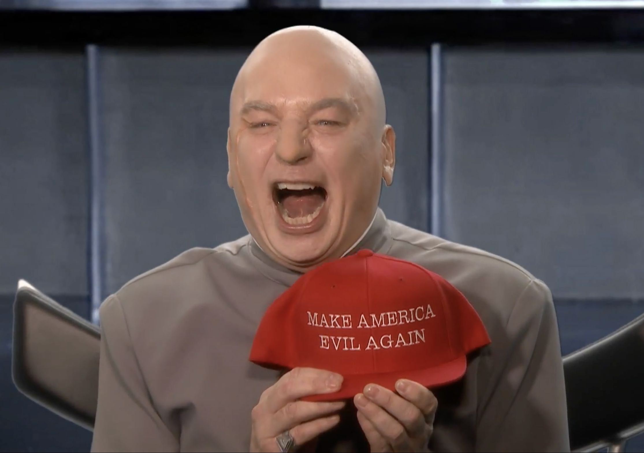 dr evil stops by tonight show ahead of midterm elections
