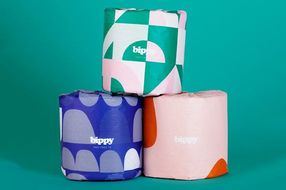 Bippy Bamboo Toilet Paper - 24-pack
