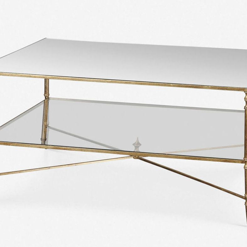 50 Best Coffee Tables 2019 The Strategist - How To Attach Glass Table Top Legs