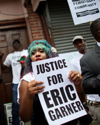 Staten Island Rally Held For Police Violence Victims Eric Garner And Michael Brown
