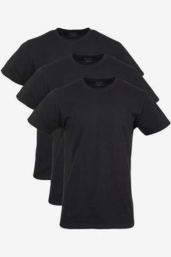 Gildan Cotton Stretch Crew T-Shirt (3-Pack)