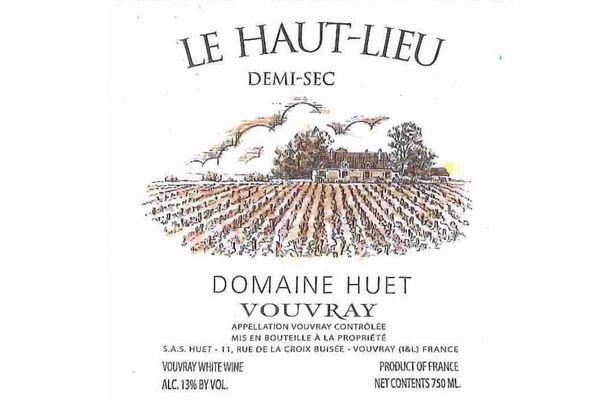 Domaine Huet Vouvray Demi-Sec Haut Lieu 2016