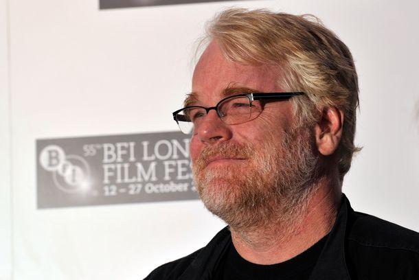 "LONDON, ENGLAND - OCTOBER 19:  Actor Philip Seymour Hoffman attends ""The Ides of March"" photocall during the 55th BFI London Film Festival at the Odeon West End on October 19, 2011 in London, England.  (Photo by Gareth Cattermole/Getty Images For The BFI)"