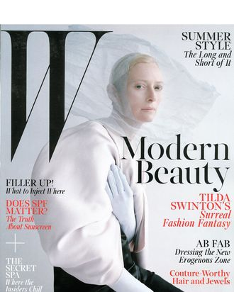 Tilda Swinton, shot by Tim Walker.