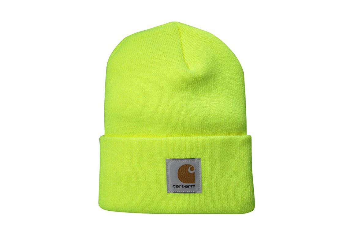 Carhartt Watch Hat A18 — Bright Lime aaa92488a86