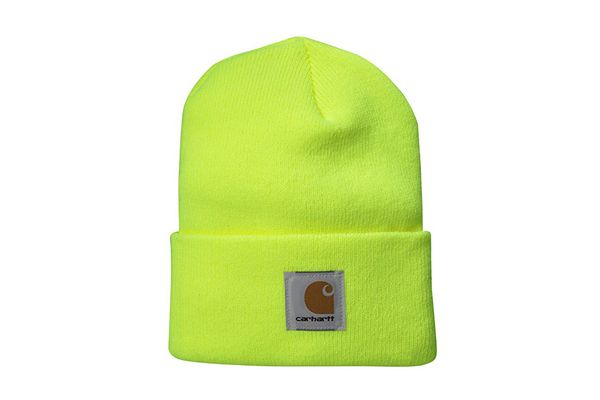Carhartt Watch Hat A18 — Bright Lime