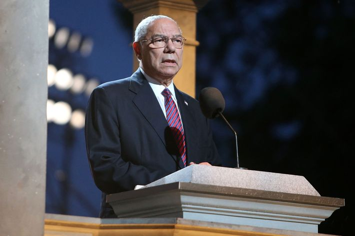 Colin Powell says he's voting for Clinton