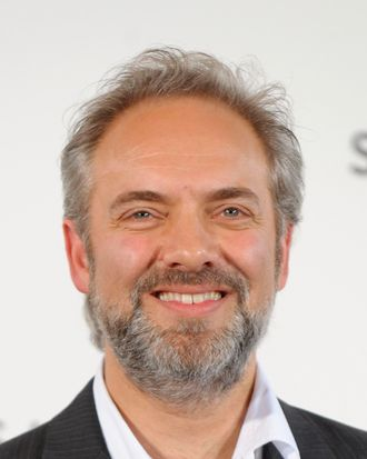 Sam Mendes attends a photocall with cast and filmmakers to mark the start of production which is due to commence on the 23rd Bond Film