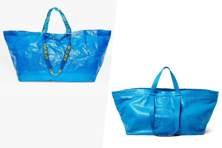 IKEA Responded to Balenciaga's $2145 Tote in the Most Hilarious Way