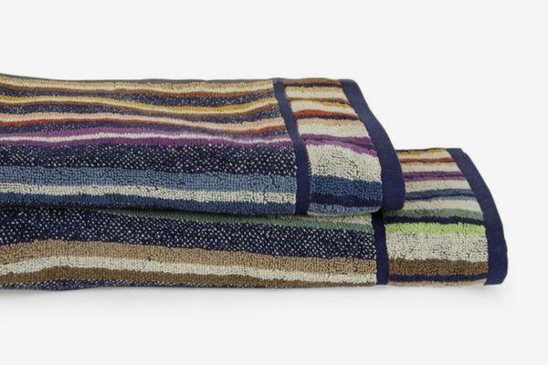 Missoni Home Striped Cotton Bath & Hand Towel Set