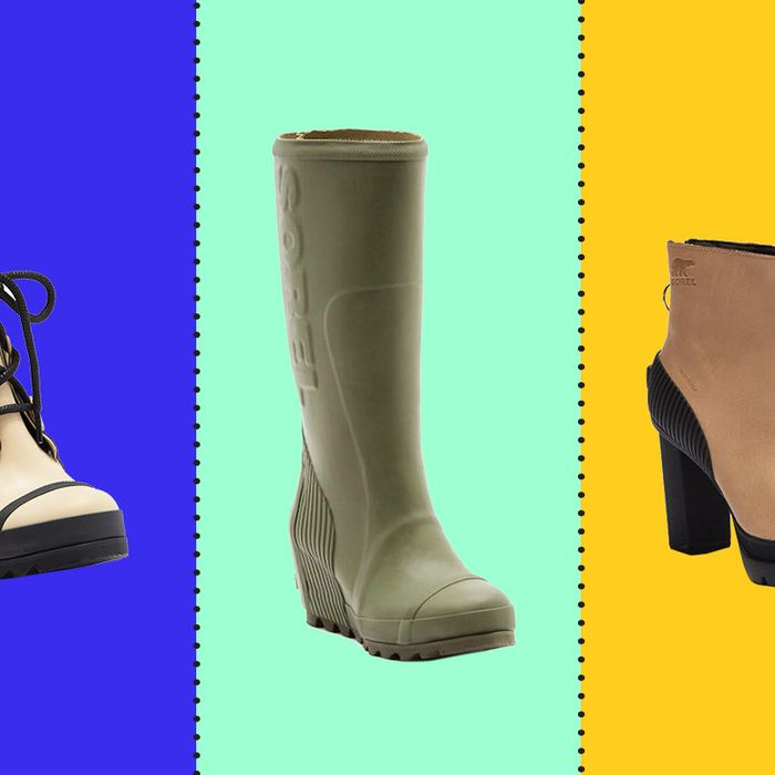 30a6aec3c41 There Are a Bunch of (Surprisingly Stylish) Waterproof Leather Sorel Boots  on Sale Right Now