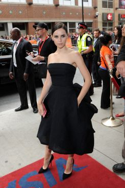 "TORONTO, ON - SEPTEMBER 09:  Actress Felicity Jones arrives at ""The Invisible Woman"" Premiere during the 2013 Toronto International Film Festival at The Elgin on September 9, 2013 in Toronto, Canada.  (Photo by Jag Gundu/Getty Images)"