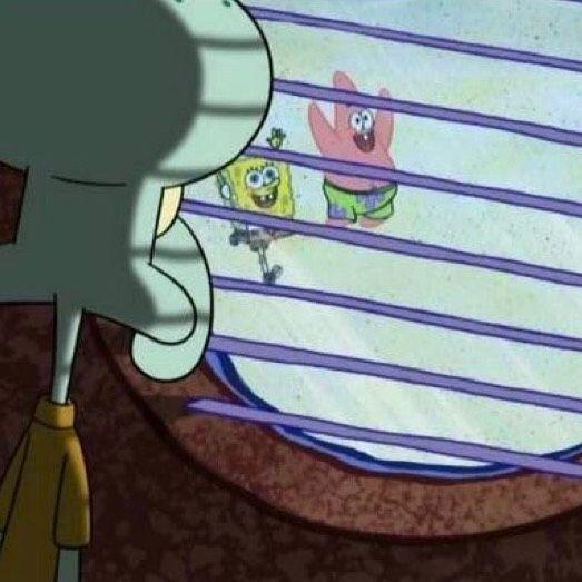 The Squidward Window Meme Helps Us Work Through Fomo
