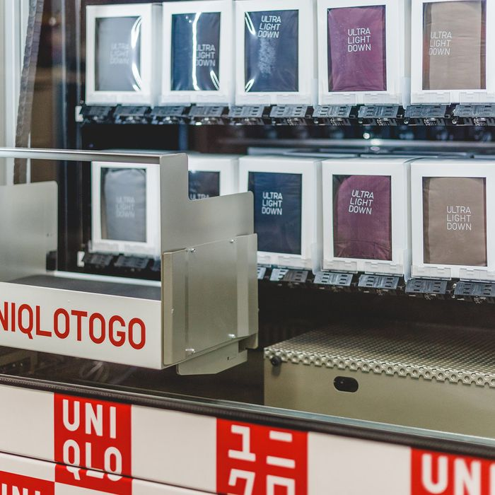 You Can Now Buy a Coat Out of a Uniqlo Vending Machine
