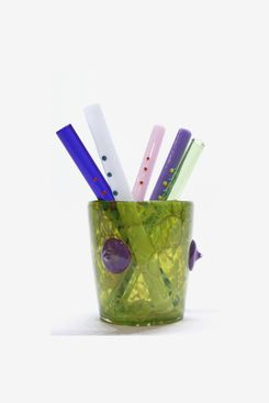 Asp & Hand Ding-a-ling Straw