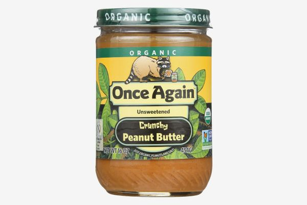 Once Again Organic Peanut Butter, Crunchy, Unsweetened, 16 Oz