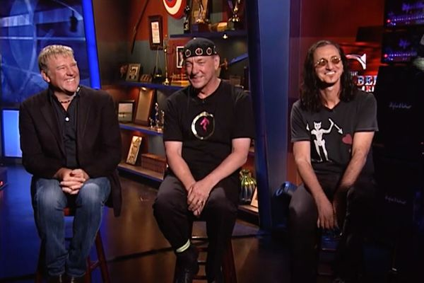 Relive the Glory of Rush and Neil Peart With This Rare, Resurfaced Colbert Report Interview