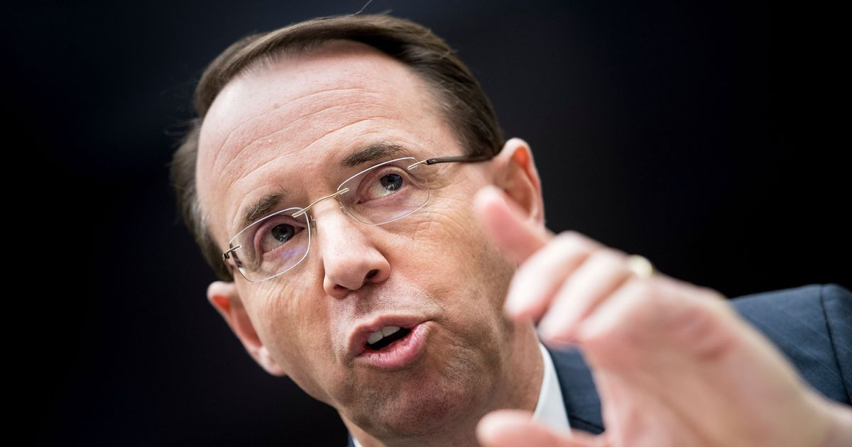 WASHINGTON A secret highly contentious Republican memo reveals that Deputy Attorney General Rod J Rosenstein approved an application to extend