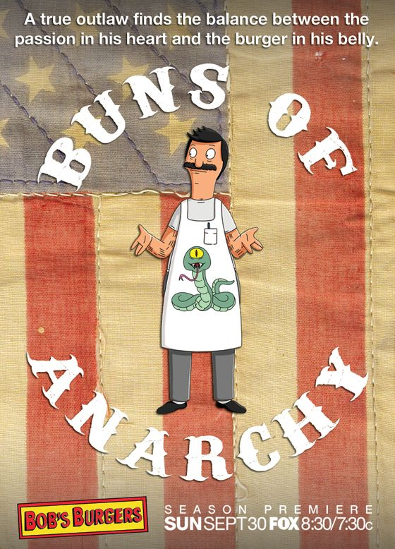 BOB's BURGERS: Bob on BOB's BURGERS on FOX.  BOB's BURGERS ™ and © TCFFC ALL RIGHTS RESERVED