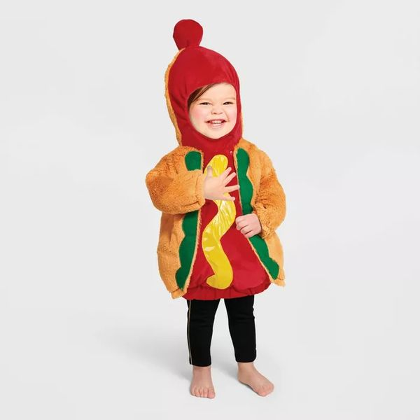 Hyde & EEK! Boutique Baby Hot Dog Halloween Costume Pullover