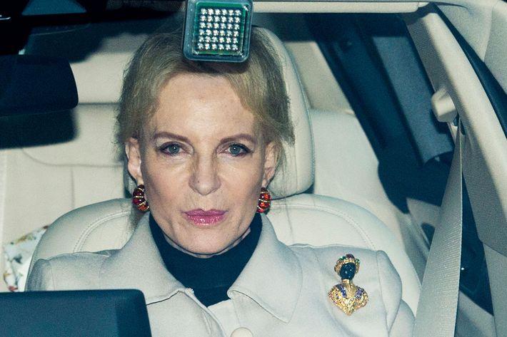 princess michael of kent wears brooch to meghan markle lunch