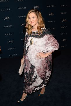 Actress Drew Barrymore attends the LACMA 2013 Art + Film Gala honoring Martin Scorsese and David Hockney presented by Gucci at LACMA on November 2, 2013 in Los Angeles, California.