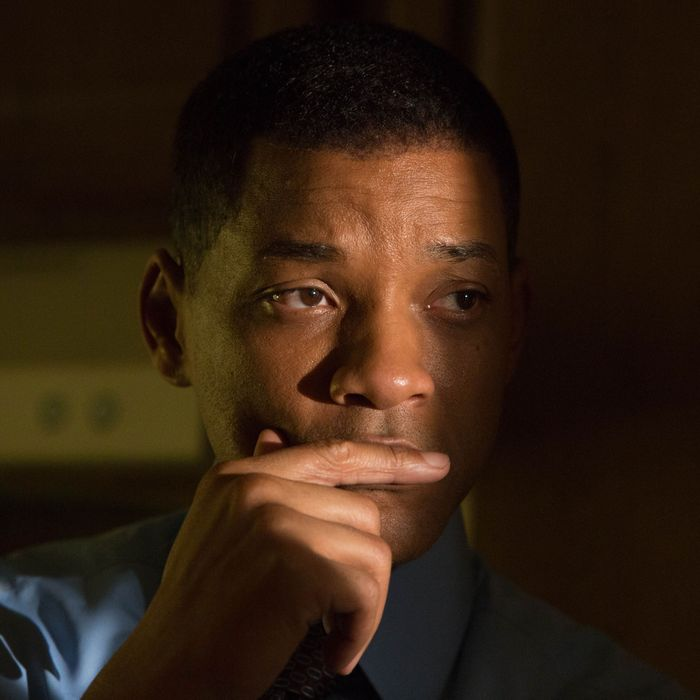 This image released by Columbia Pictures shows Will Smith in a scene from,