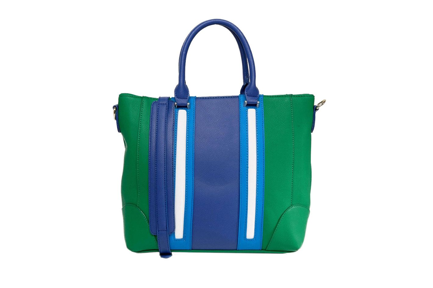 Yoki Color Block Tote Bag