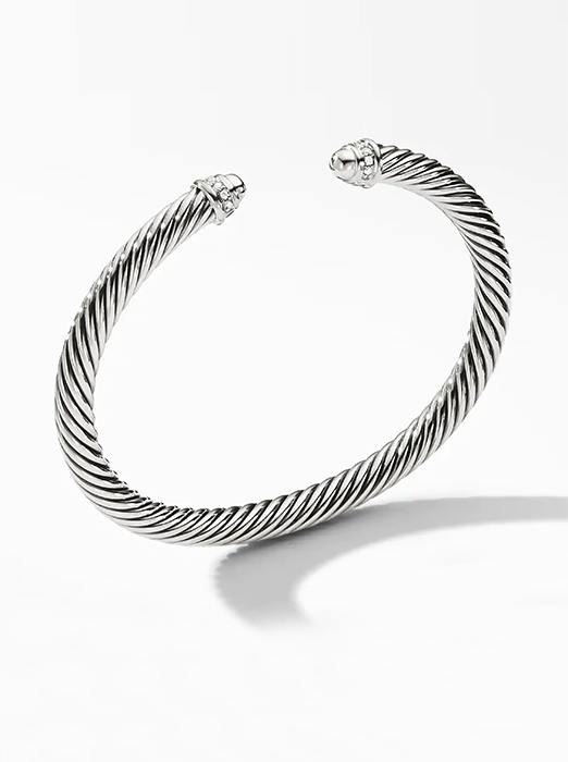 Cable Classic Collection® Bracelet with Diamonds