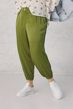 Anthropologie Diandra Pleated Joggers