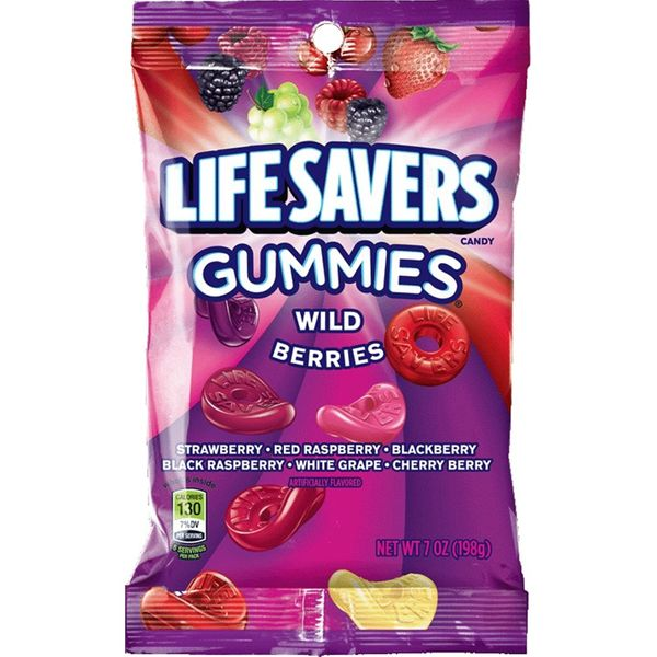 Life Savers Wild Berry Gummy Candy (12-Pack)